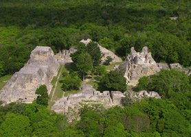 archaeological ruins campeche calakmul